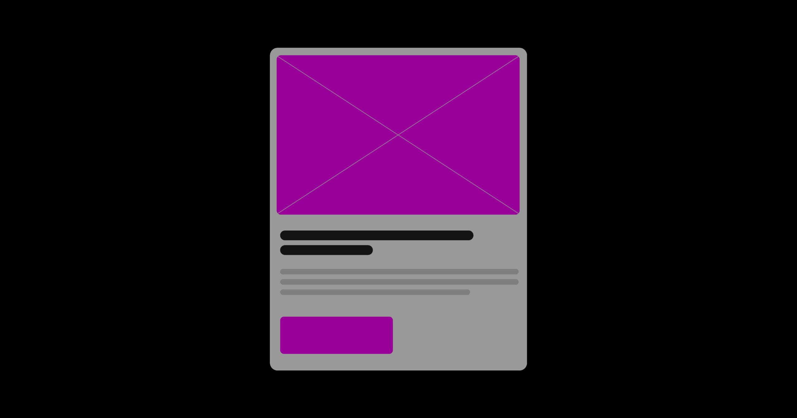 Creare delle buone card per la propria UI